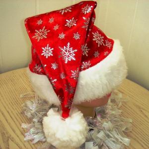 Шапка Деда Мороза DM-10