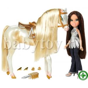 """Кукла """"Bratz"""" с лошадью 922"""