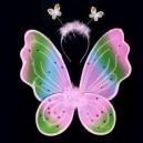 "Крылья бабочки ""Радуга"" 00409 (72шт)"