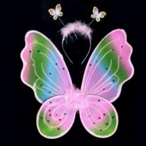 "Крылья бабочки ""Радуга"" 00409"